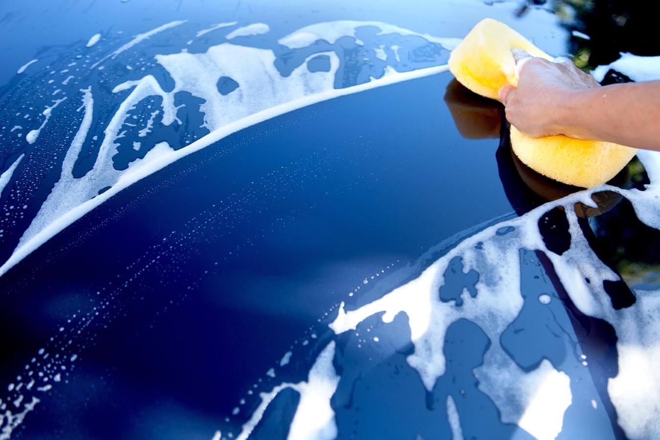 Hakopex auto poetsen spons